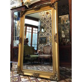 Espejo Nuevo Diseño Antiguo Dorado Viejo 1,50x90cm.