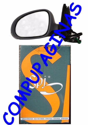 espejo original vw vento 2006-2011 giro der ó izq electrico