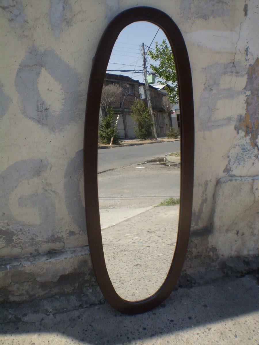 Espejo ovalado en mercado libre for Espejo ovalado de pie