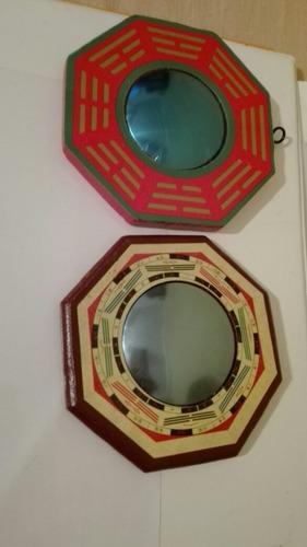 espejo pakua convexo de feng shui