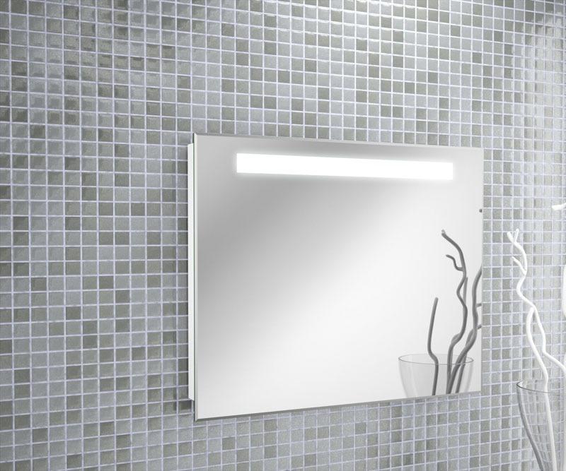 Espejo para ba o con luz integrada led kand barra 120x70cm - Espejo bano con luz integrada ...