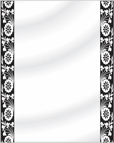 perfect espejo para bao sin marco con detalle vinilo decorativo with vinilos para espejos with vinilo para espejo