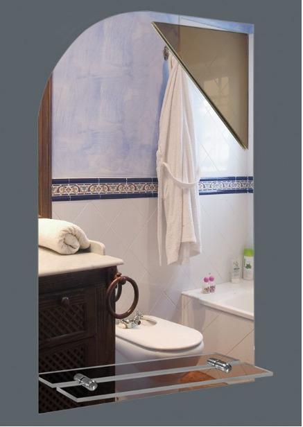 Espejos Para Bano Con Luz.Espejo Para Bano S Luz Medida 40x60 Cm Con Repisa 1 185 00 En