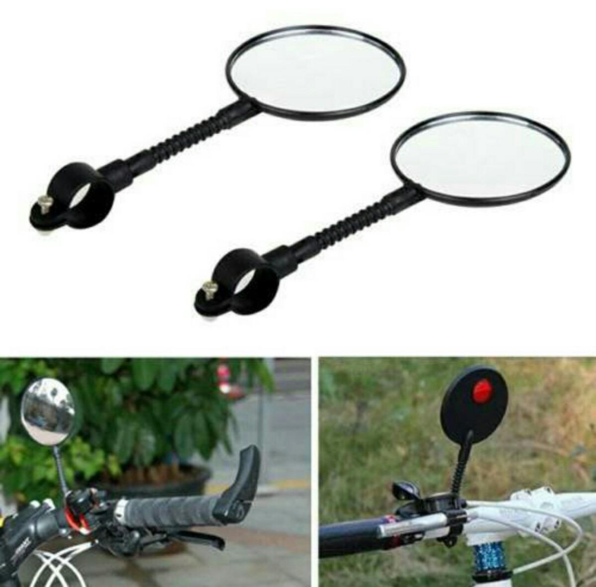 Espejo Para Bicicleta Flexible Plastico Con Reflejante