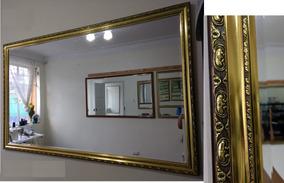 Espejo Para Comedor Nuevo De Cristal Importado Rectangular