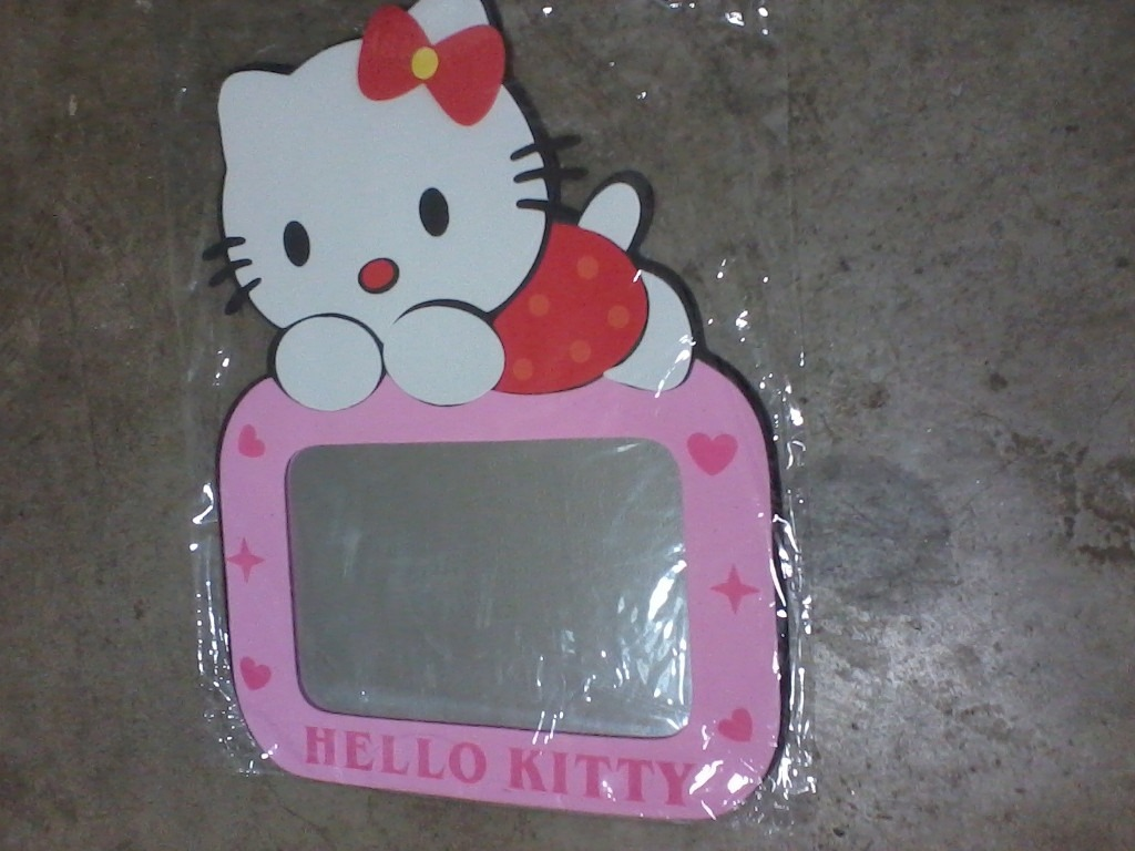 Espejo para decorar cuarto bebe ni os hello kitty 1 bs for Espejo retrovisor para ninos
