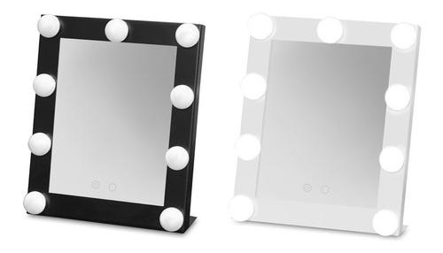 espejo para maquillaje con luces led portátil estilista
