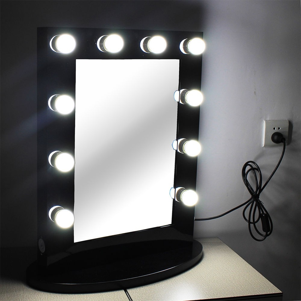 Espejo para tocador con luces led tipo hollywood s 399 00 en mercado libre - Luces de camerino ...