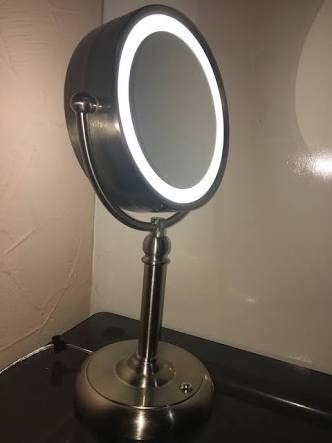 Espejo para tocador con luz led con aumento en mercado libre - Espejos de tocador con luz ...