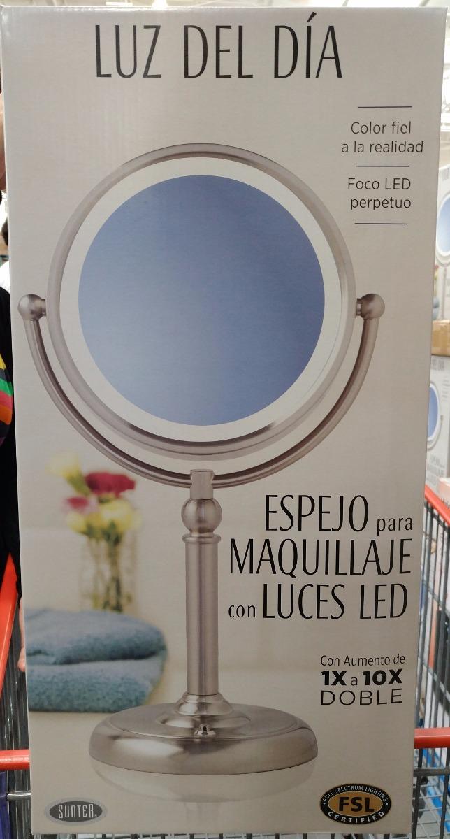 Espejo para bao con luz avlon espejo iluminado astro for Espejo de aumento con luz