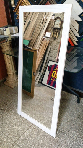 espejo para vestidor  marco varilla 5cm 1,27x0,57 oferta!!!!