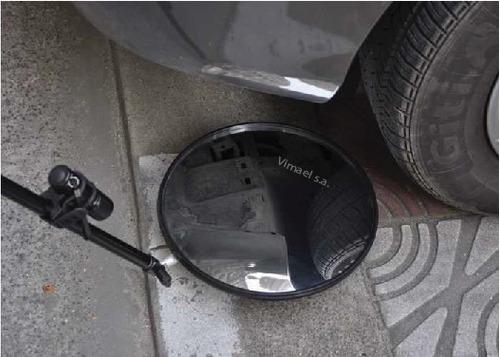 espejo para vizualizar debajo de los carros