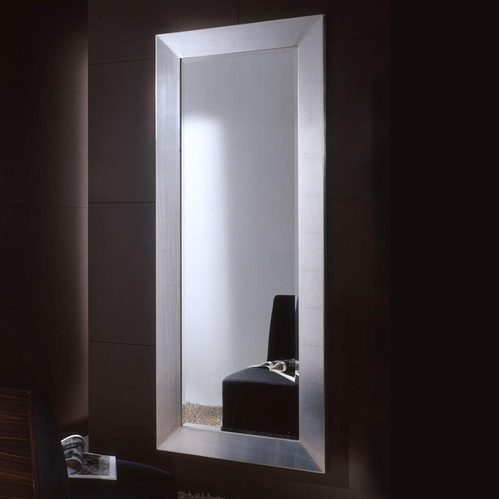Espejo Pared Grande Marco Aluminio 1x0.40m Industrial - $ 2.500,00 ...
