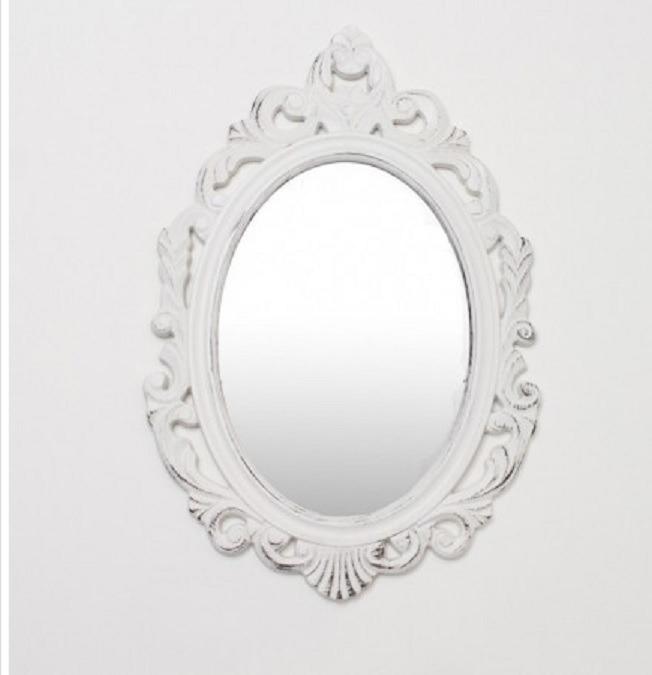 Bonito Marco Blanco Espejo Imágenes - Ideas de Arte Enmarcado ...