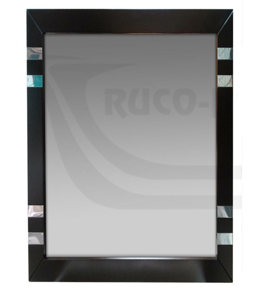 Espejo Peinador Con Marco Wengue 60x70 Detalles Acero Inox - $ 1.340 ...