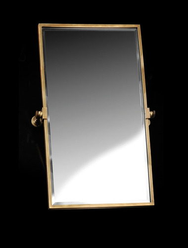 espejo pivotante robinet vertical 1mt bronce viejo 6 cuotas