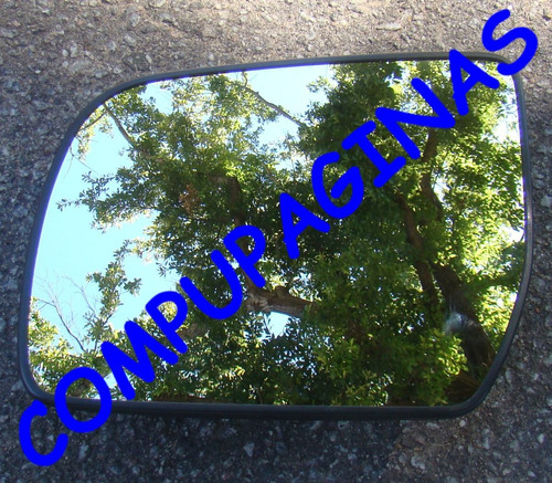 espejo placa y vidrio original ranger 2015 marca metagal izq