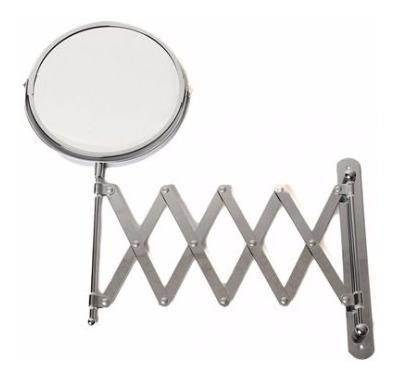 espejo redondo abatible acordeon estructura metalica namaro