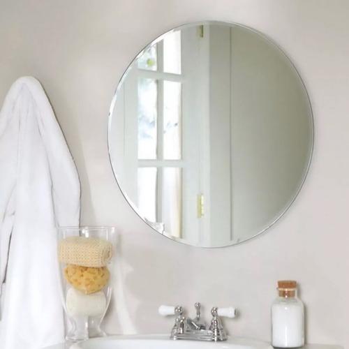 espejo redondo bisel 1 pulgada diámetro 70 cm - envío gratis