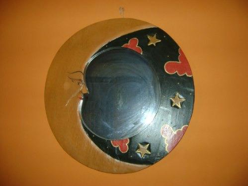 espejo redondo luna