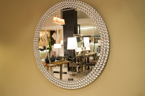 espejo redondo  romy