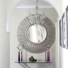 espejo redondo sol