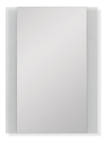 espejo reflejar con marco o bandas arenadas 46 x 60 cm baño