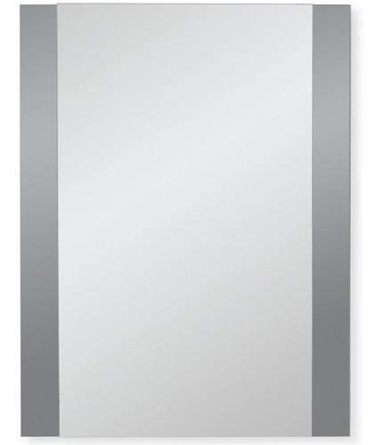 espejo reflejar con marco o bandas grises 46 x 61 cm baño