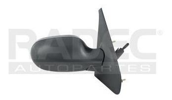 espejo renault megane 2001-2002-2003-2004 c/control negro