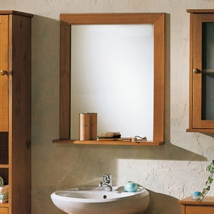 Espejo repisa ba o dise o color elecci n tama o 60 x 60 cm en mercado libre - Espejo bano diseno ...