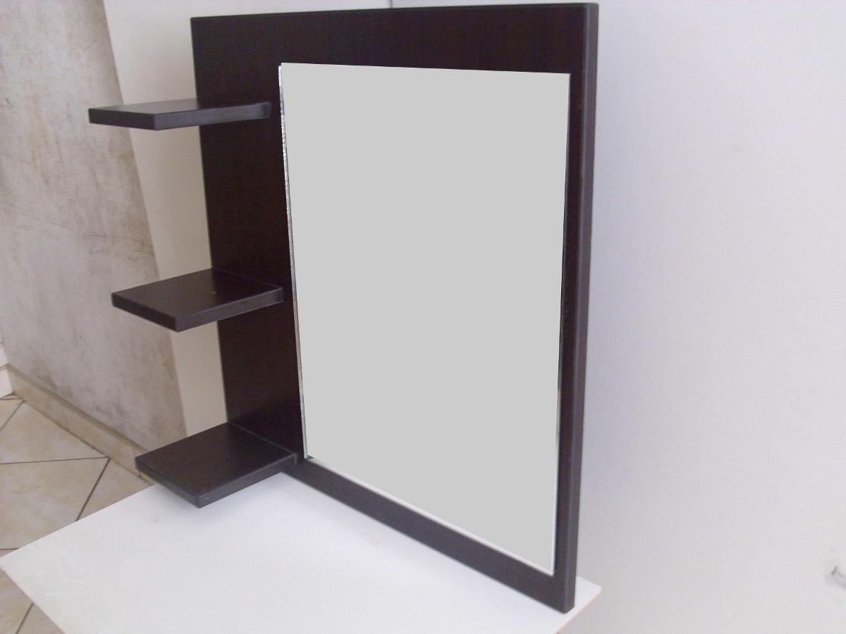 Espejo repisa ba o habitacion melamina oferta cr 10 for Espejo con repisa para bano