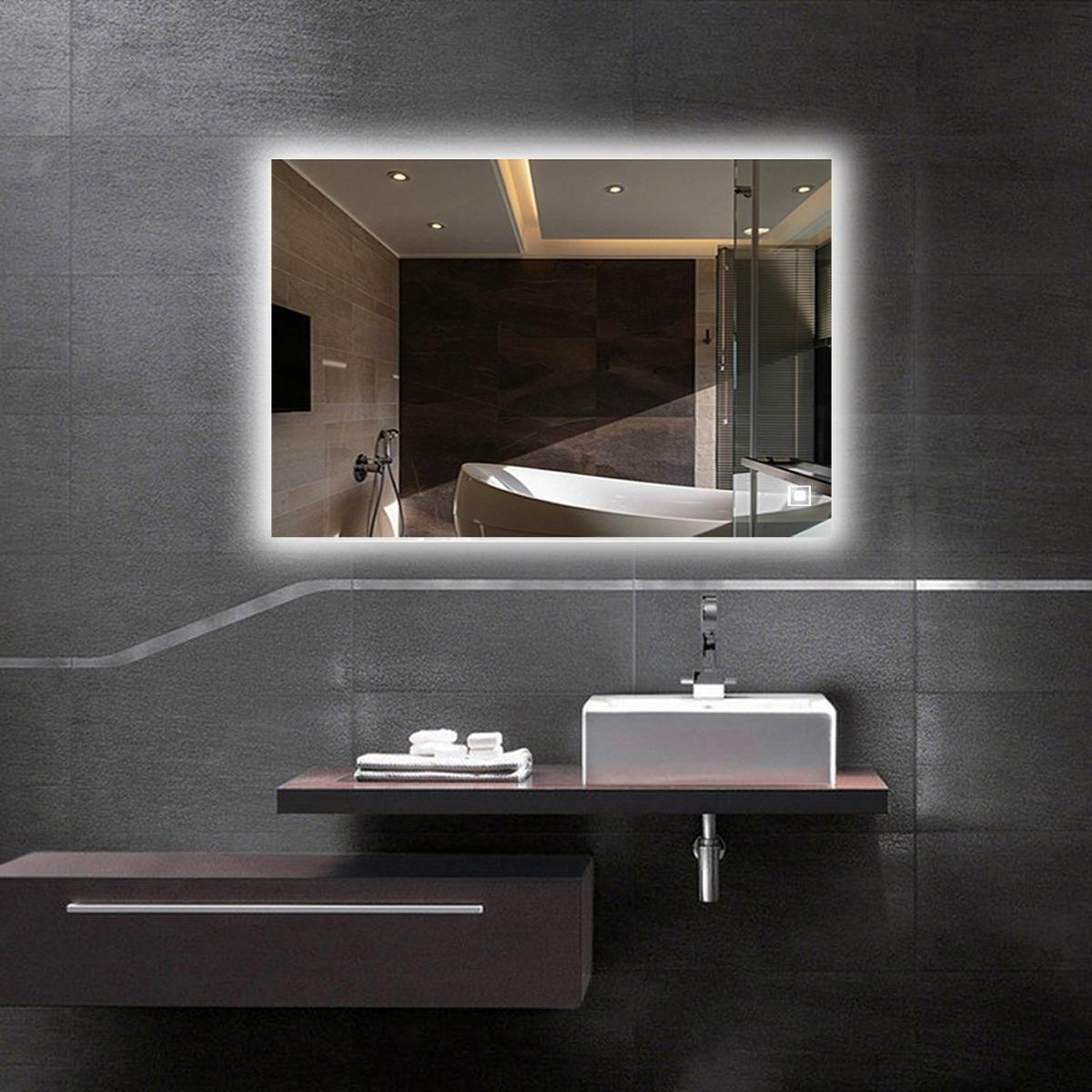 espejo retroiluminado led ba o iluminado con espejo