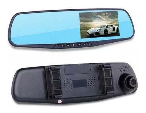 espejo retrovisor camara dvr hd delantera y trasera 1080