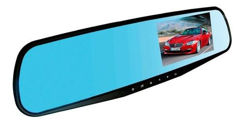 espejo retrovisor con camara frontal full hd pantalla led