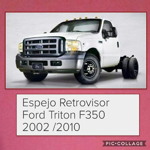 espejo retrovisor derecho ford f-350 original ford