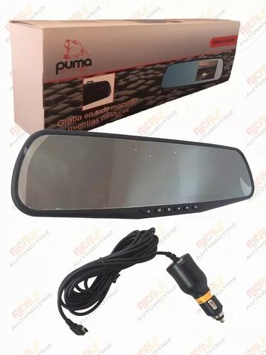 espejo retrovisor dvr multimedia 4.3 con camara frontal