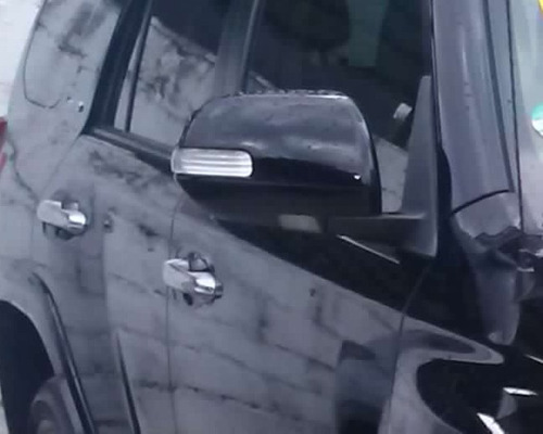 espejo retrovisor electrico c/led toyota 4runner 2010 - 2014