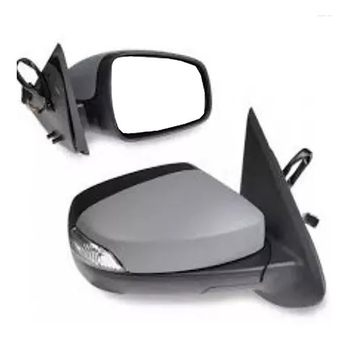espejo retrovisor lateral electrico izq y der logan sandero