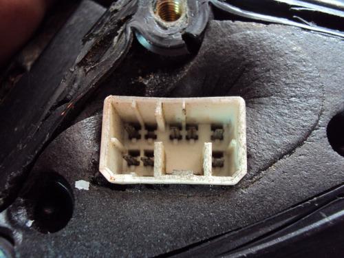 espejo retrovisor optra izquierdo modelo de 7 pines