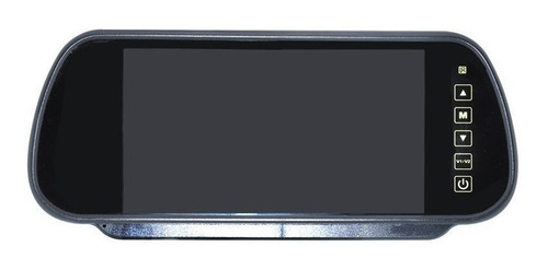 espejo retrovisor pantalla  monitor hd led 7 pulgadas