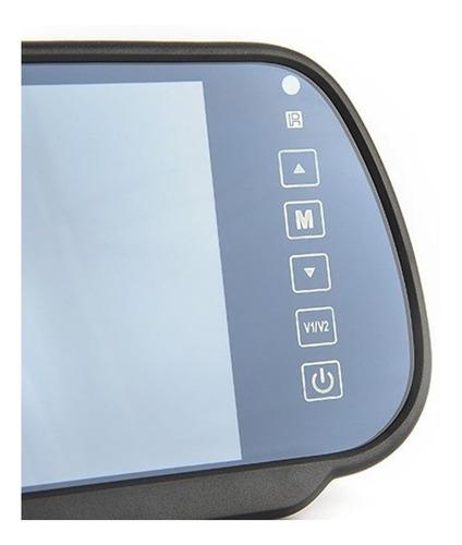 espejo retrovisor pantalla monitor lcd 7 para camara reversa