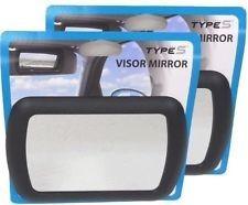 espejo retrovisor para tapa sol 7.5 pulgadas visera