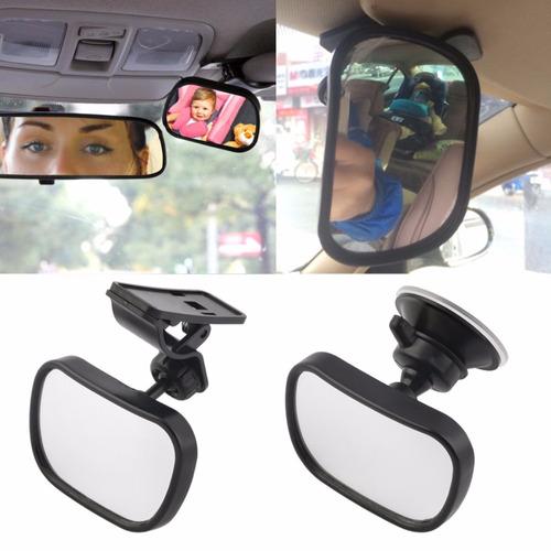 Espejo retrovisor para ver al bebe en el coche sujeta y for Espejo retrovisor bebe