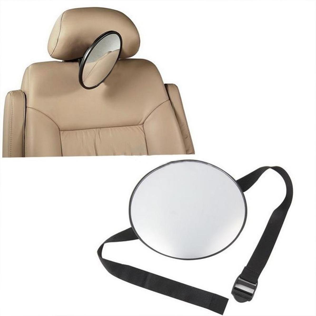 Espejo Revisor Para Bebe Asiento Trasero Auto Coche B3005