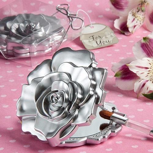 espejo rosa recuerdo boda despedida de soltera xv años baby