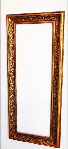 espejo rustico rococo cuerpo completo o decorativo 127 x 53