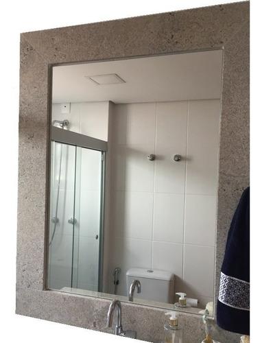 espejo sin marco baño decoración living 50x70 de 3mm
