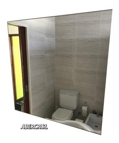 espejo sin marco baño decoracion living 70x70 de 3mm
