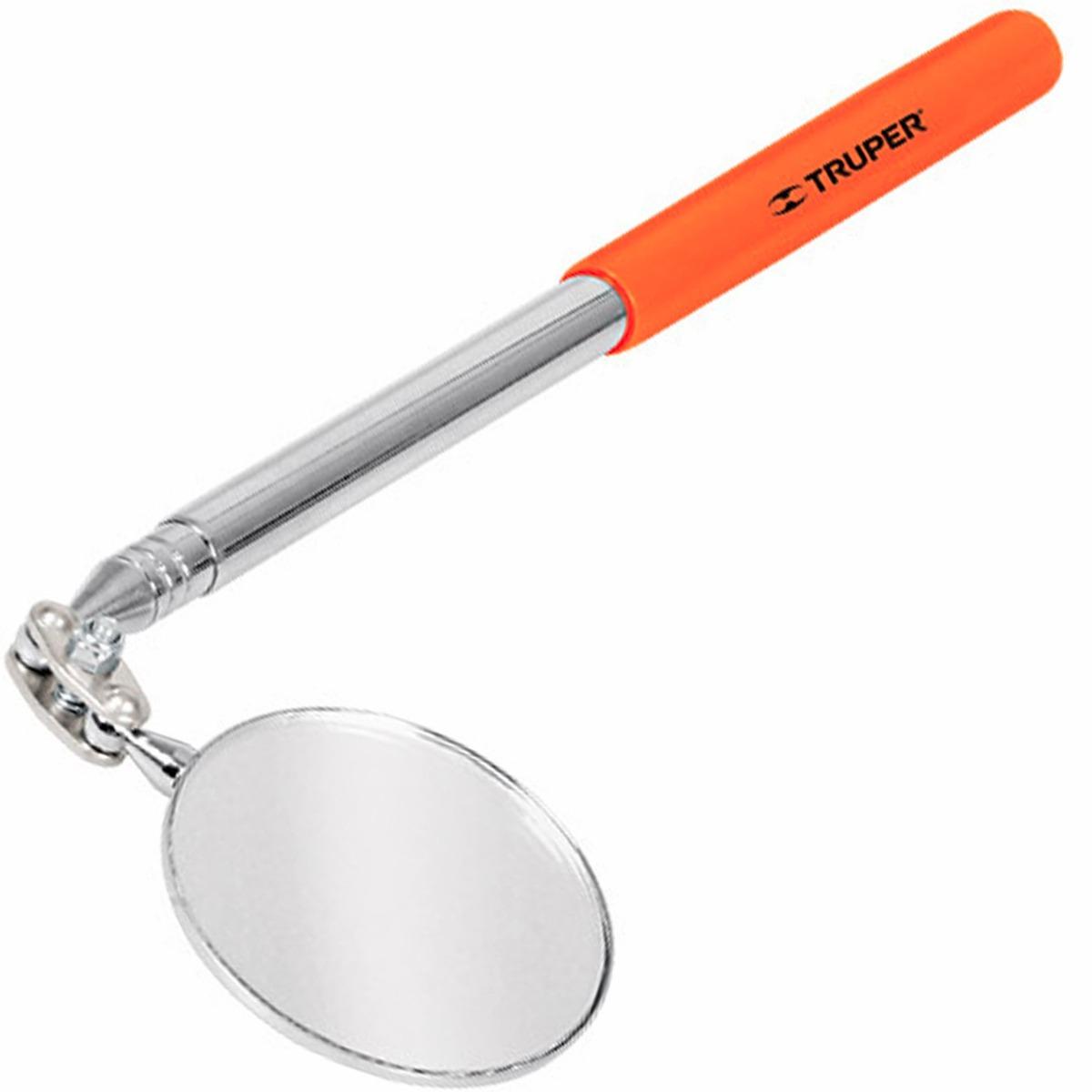 Espejo telescopico con cabeza articulada truper 14544 for Espejo laringeo 00