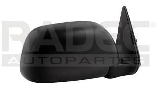 espejo toyota pick up 1993-1994-1995 4x4 manual negro